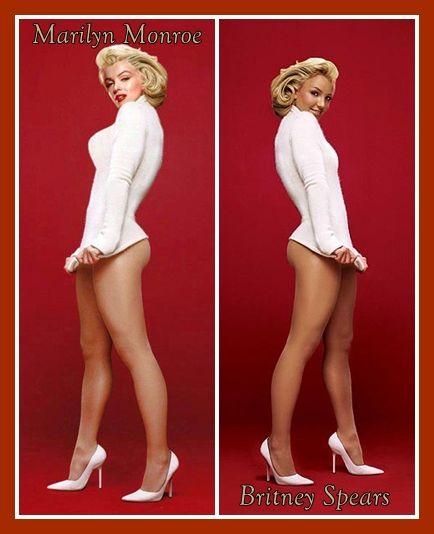 marilyn Britney monroe spears