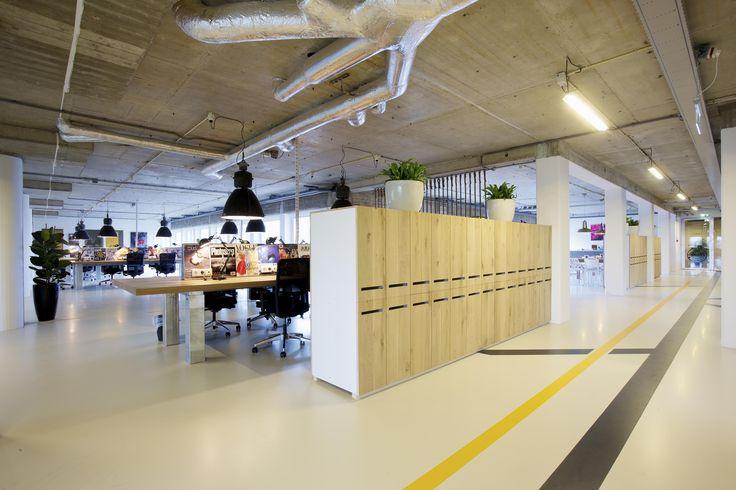 ontwerp en bouwkunde, studio72 - Project - Kantoor inrichting Ozebo