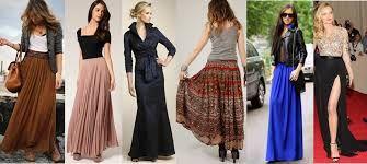 Znalezione obrazy dla zapytania długie spódnice