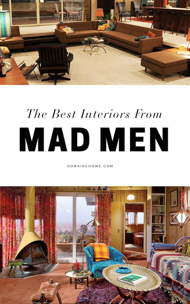 All the Best Interiors From Mad Men                                                                                                                                                                                 More