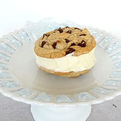 Homemade Ice Cream Cookie Sandwiches from Brown Eyed Baker