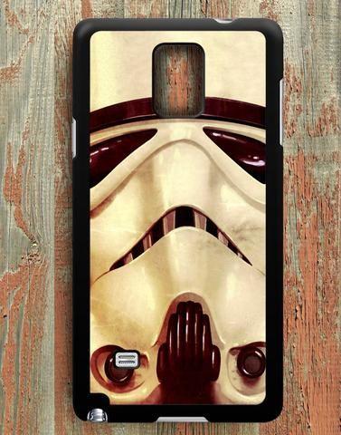 Stormtrooper Mask Star Wars Samsung Galaxy Note 4 Case