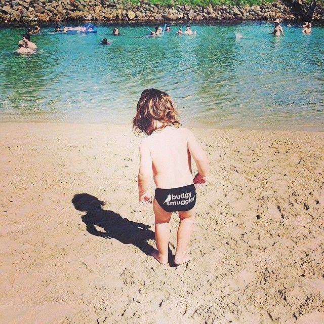 Beach Life. What a cutie @ameliusprime #AceOfSpades #BeachLife #BudgyKids