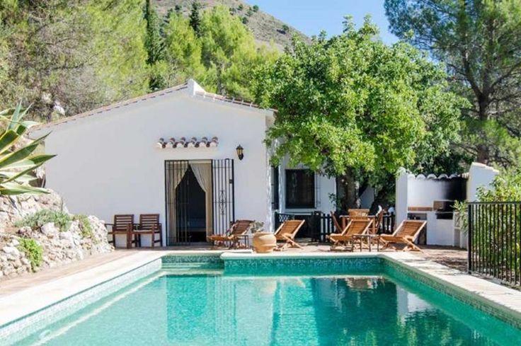 Leuk huisje in de bergen in Andalusie, boven Malaga, 16km van zee | 6p 1100€/w