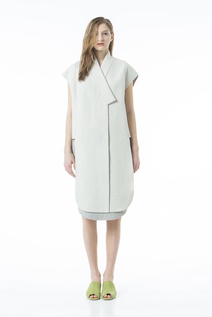Side Cut Wool Vest | Matériel