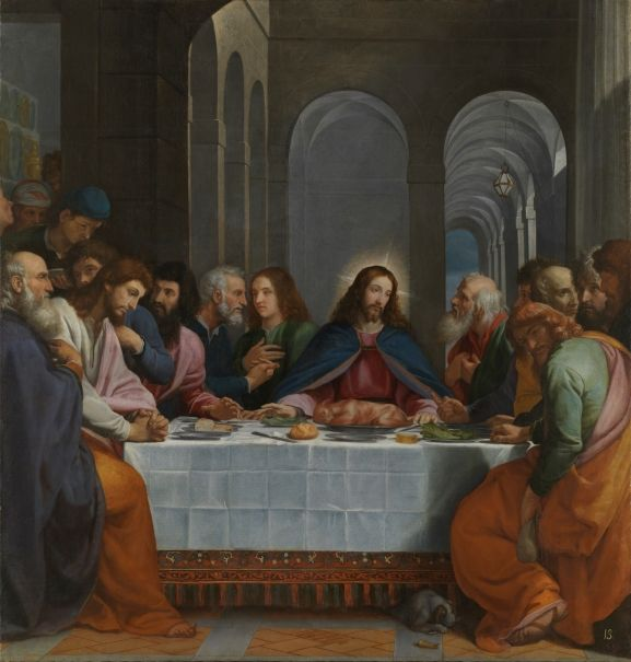 The Last Supper The Collection Museo Nacional Del Prado Last Supper Diego Velázquez Jesus Art