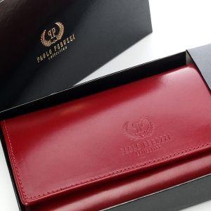 Skórzany portfel damski Paolo Peruzzi 008pp #PaoloPeruzzi #Supergalanteria
