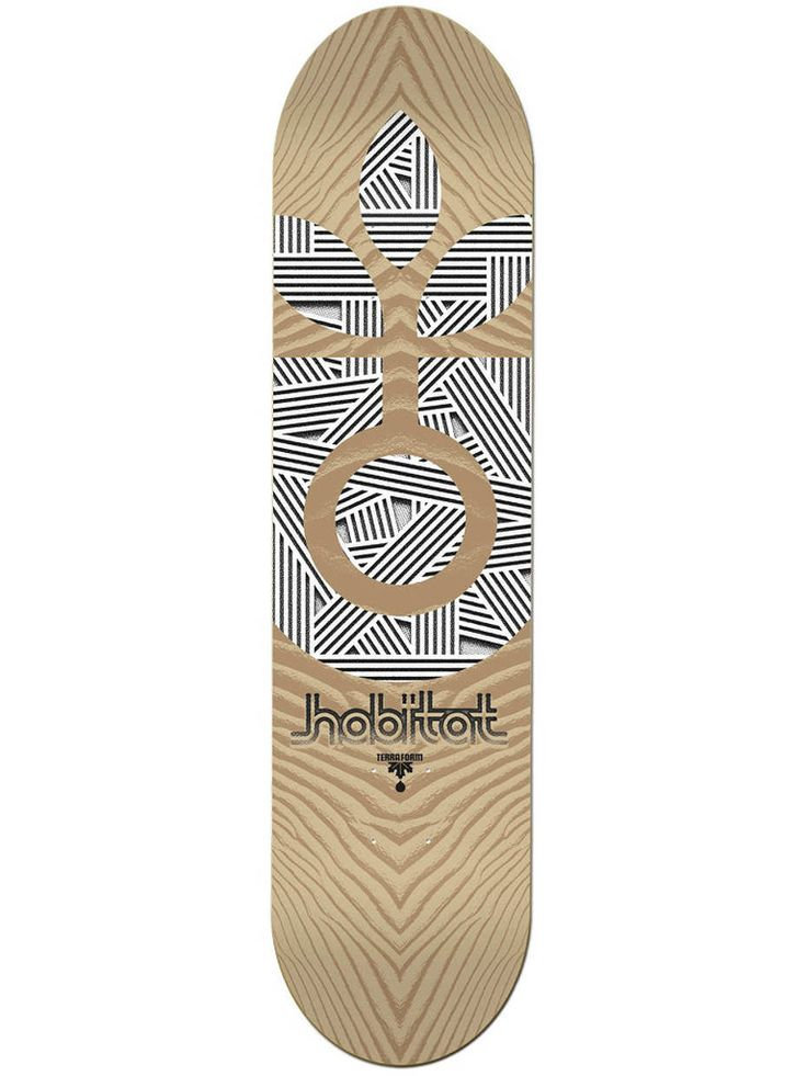 Habitat Deck Terra Form Medium 8.125"