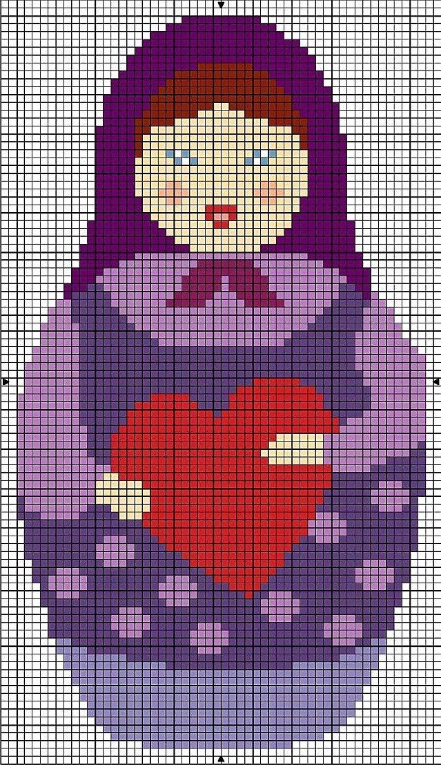 Point de croix -m@- Cross stitch