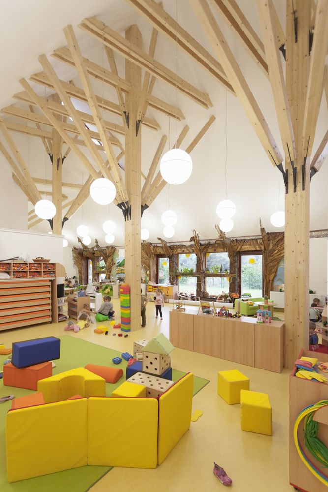 Gallery Of Kindergarten In Dobrin ATELIER 8000