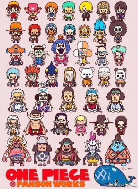 One Piece characters!
