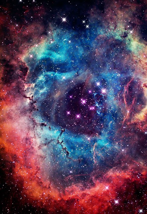 Zaine Ridling - Google+ - The Rosette Nebula  |  Brian Lula/NASA…