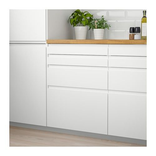 Best Voxtorp Drawer Front Matt White Ikea Interior Design 640 x 480