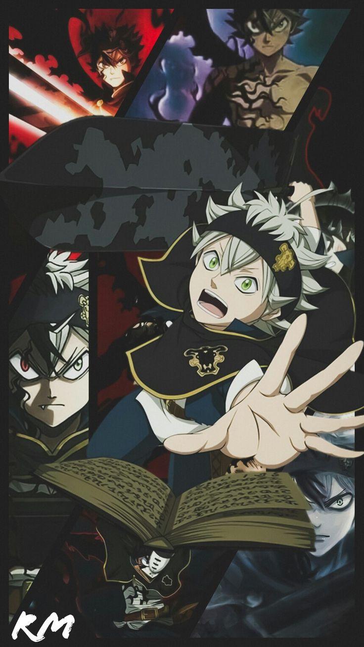 Pin de GaWron em Black Clover Animes wallpapers, Anime e