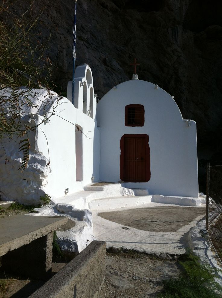 Church on the rocks. Probably one of the best places on the island to reflect, meditate or just to pay your respects.