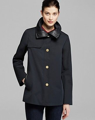 Ellen Tracy Coat - Single Breasted Swing | Bloomingdale's