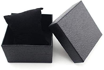 Oyedens Plain Wacth Gift Box Bracelet Bangle Present Case with Foam Pad  (Black)  b1b8868a50
