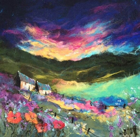Highland summer, Moy Mackay