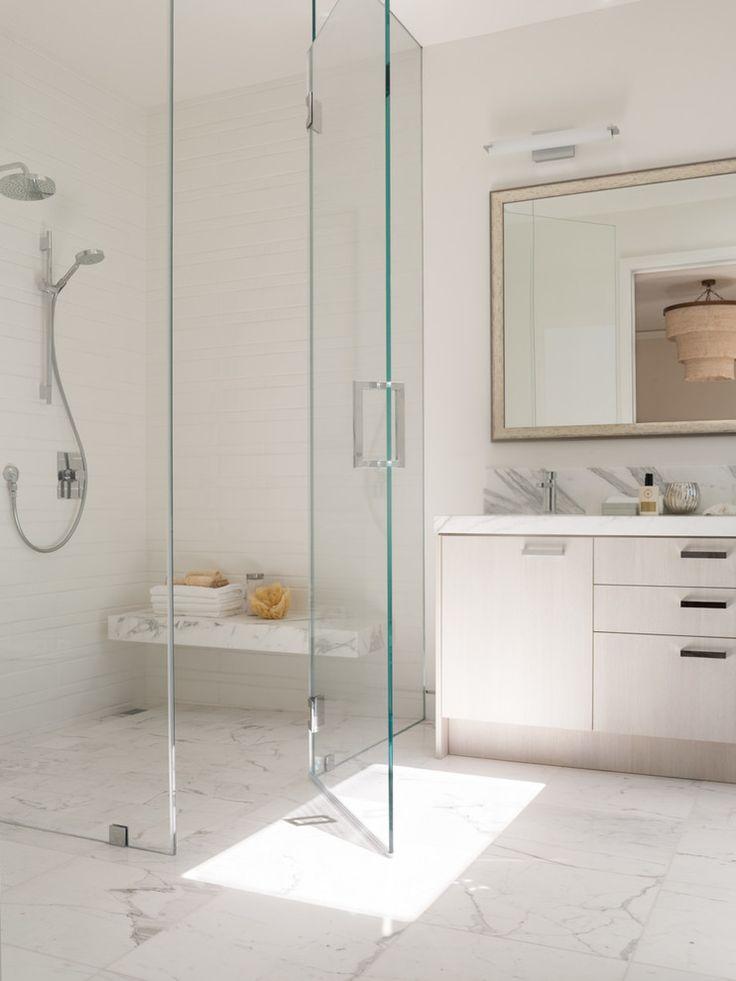 Top 25 best frameless shower doors ideas on pinterest for Glass shower doors for baths