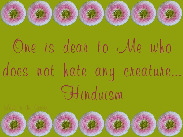"""One is dear to Me who does not hate any creature, who is friendly and compassionate, free from the notion of """"I"""" and """"my"""", even-minded in pain and pleasure, forgiving; and who is ever content, who has subdued the mind, whose resolve is firm, whose mind and intellect are engaged in dwelling upon Me, and who is devoted to Me. (12.13-14)  Photo by: Love is the Secret"""