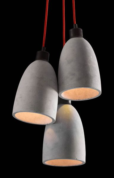 Form Ceiling Lamp Concrete Gray - FROY