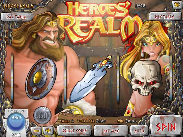 Lass uns unsere Neusten drehen absolut kostenlos Automat Heroes' Realm - http://spielautomaten7.com/heroess-realm/