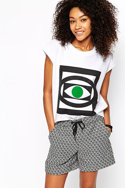 30 Cool Graphic Tees To Throw On For ANY Occasion #refinery29  ASOS tee  http://www.refinery29.com/graphic-tees#slide11