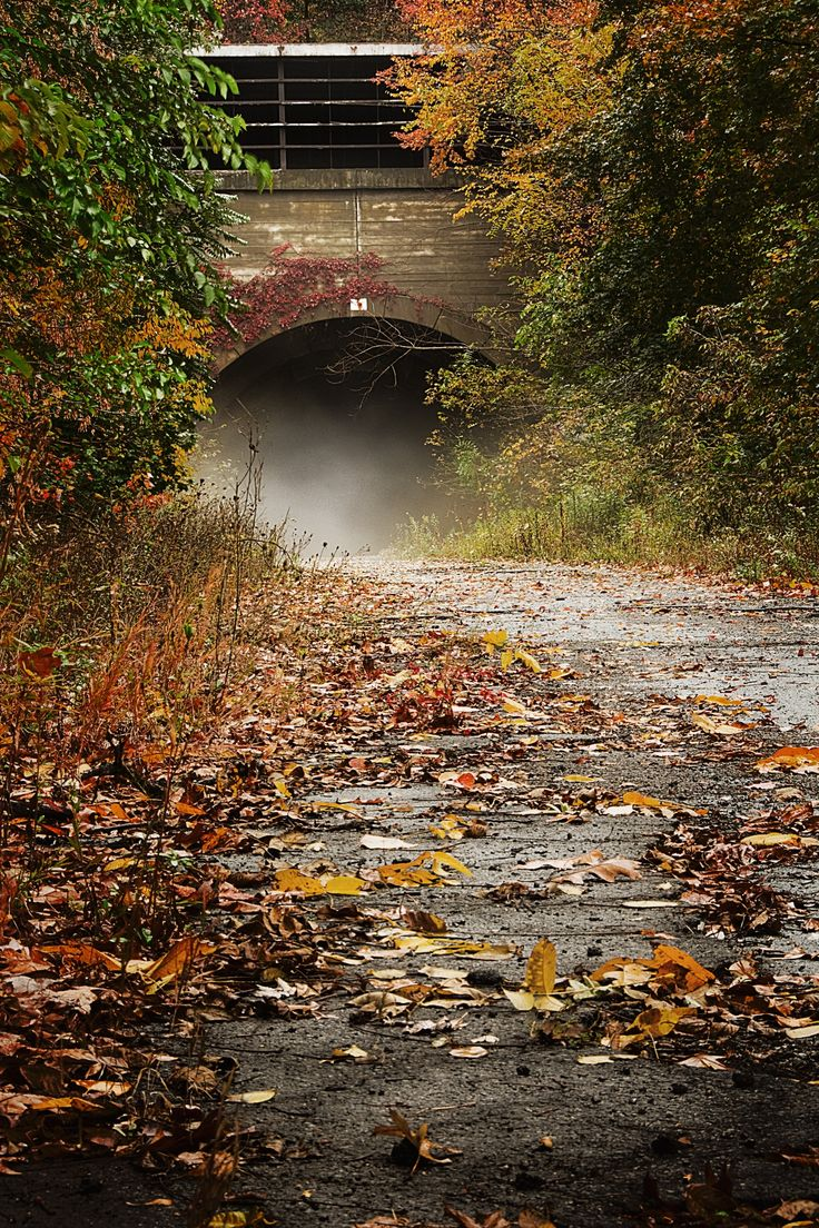 Part of the The Abandoned Pennsylvania Turnpike.  This is the Rays Hill Tunnel just east of  the Breezewood interchange for Interstate.