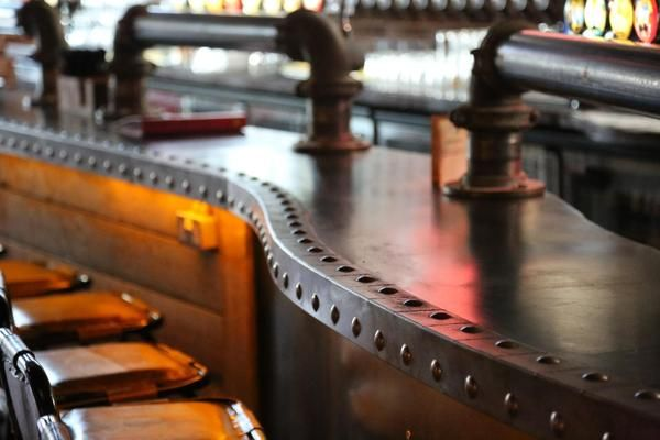 industrial home bar ideas