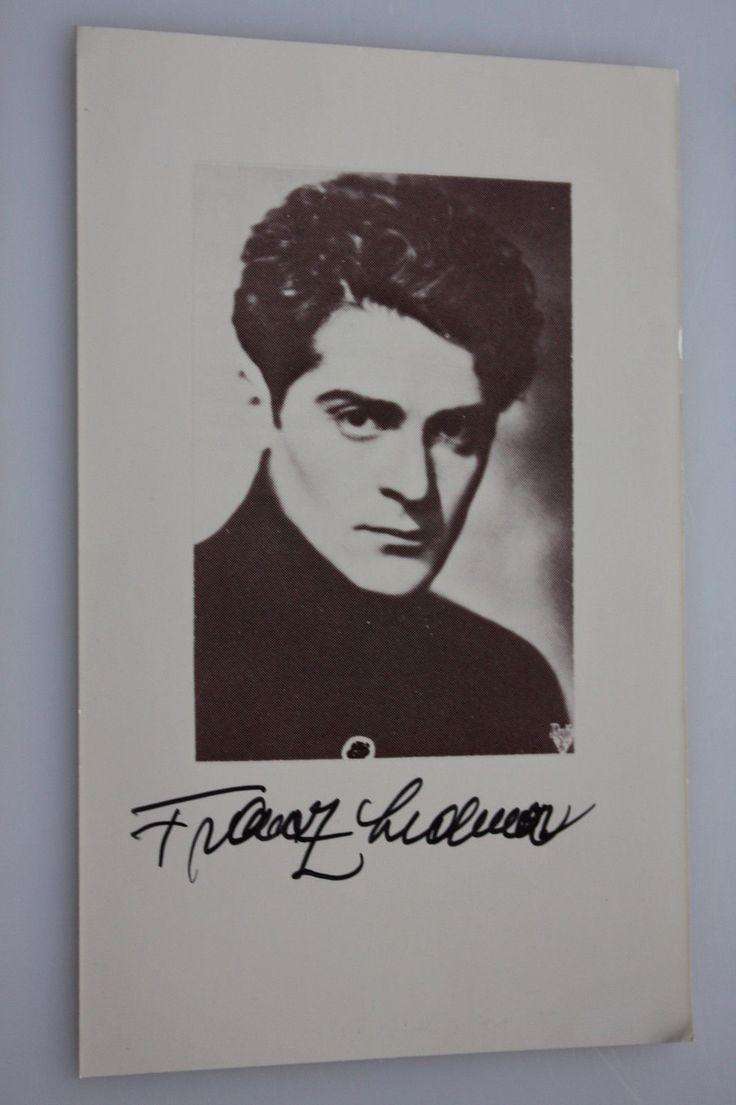 Francis Lederer - Film - original Autogramm - Größe 14 x 9 cm | eBay