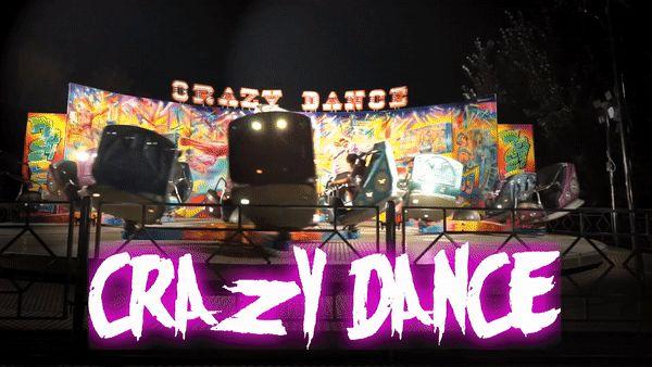 Όσο τρελά και αν νομίζεις ότι μπορεί να έχεις χορέψει στη ζωή σου, η εμπειρία του Crazy Dance θα σε διαψεύσει! Έλα για ένα χορό γεμάτο…σβούρες και αναταράξεις, μόνο στο Magic Park!  Έχουμε νέα σελίδα! Δες την τώρα, με ένα click στο www.magicpark.gr!