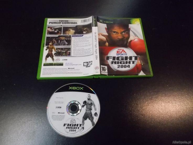 """EA Sports Fight Night 2004 - GRA Xbox Sklep """"ALFA"""" Opole 0299 - AlleOpole.pl (Opole)  http://www.alleopole.pl/"""