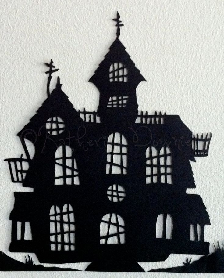 Hand-cut Halloween Silhouettes, Set 2, $11.50 on Etsy!