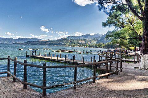 Lago de Amatitlan - Foto por Maynor Marino Mijangos   Sólo lo mejor de Guatemala
