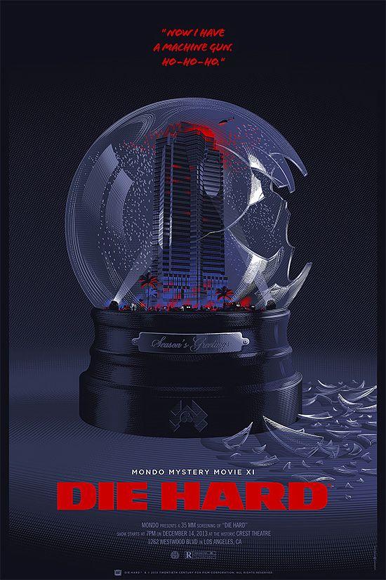 Die Hard - Movie Posters by Laurent Durieux