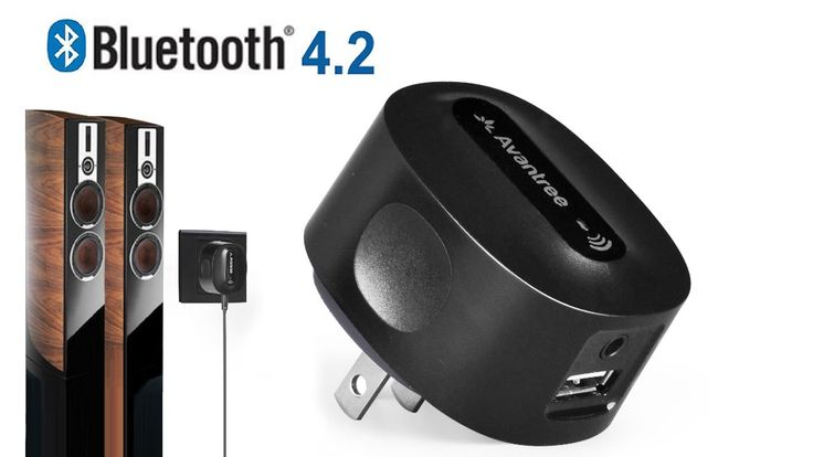 Avantree Bluetooth Receiver Adapter for Home Stereo, Speakers, HiFi, Wirelessly Music Audio Stream from PC, Phone etc