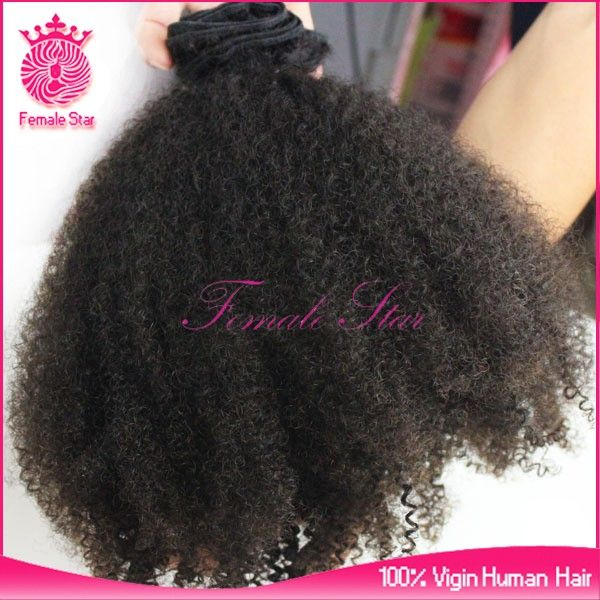 wholesale brazilian hair weave bundles 100% virgin remy human hair 7a grade afro curly hair weave for african americans #Hair_Care, #African_American