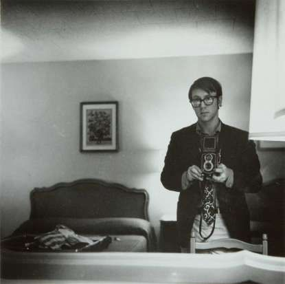 Raymond Smith, Self-Portrait, Motel Room, Williamsburg, Va, 1974. On the 40th anniversary of Raymond Smith's sojourn in America, he shares 52 of his photographs in an exhibit at MOCA Jacksonville.  Raymond Smith