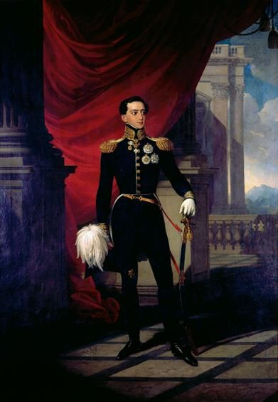 King Miguel I (1802-1866), painted in 1827 by John Ender - Queluz National Palace