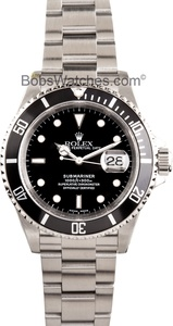 Rolex Submariner 16610 Pre-Owned: http://www.bobswatches.com/mens-used-rolex/rolex-submariner-16610-pre-owned.html