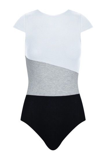 Black & White Bodysuit #TALLYWEiJL #bodysuit