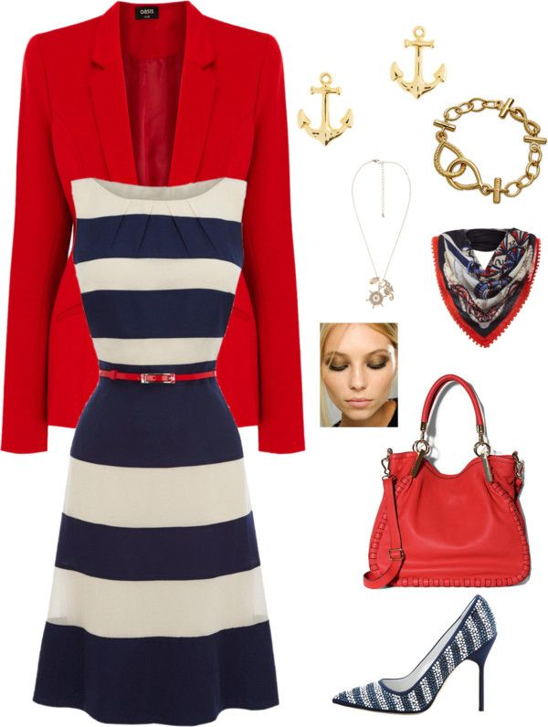 """""""Yacht Day"""" by theranna ❤ liked on Polyvore"""