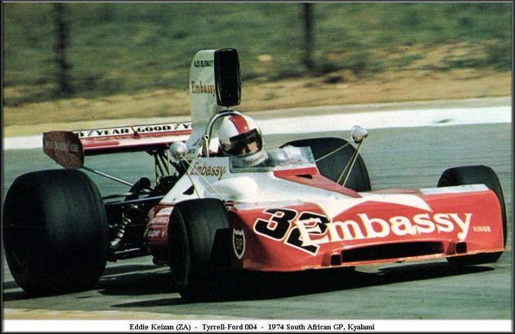 Blignaut-Embassy (Eddie Keizan) Tyrrell 004 - Ford (Kyalami)