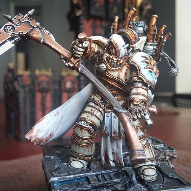Mortarion the Reaper Primarch of the Death Guard #artwork #forgeworld #primarch #deathguard #paintedminiatures #miniaturepainters #horusheresy #paintingfun #paintingmodels #paintingwarhammer #paintingforgeworld #miniaturepainterscom