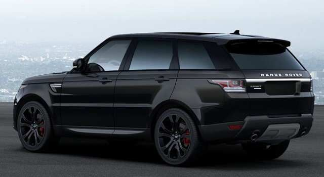 range rover sport svr 2016 black on black on black jaguar land zooommm pinterest. Black Bedroom Furniture Sets. Home Design Ideas