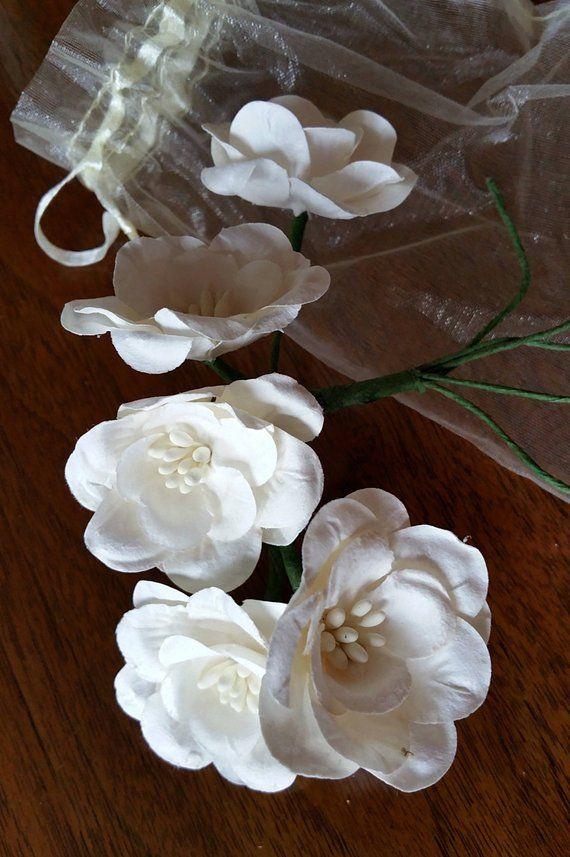 PAPER MAGNOLIAS, Paper Magnolia, White Paper Flowers, Magnolia Lane ...