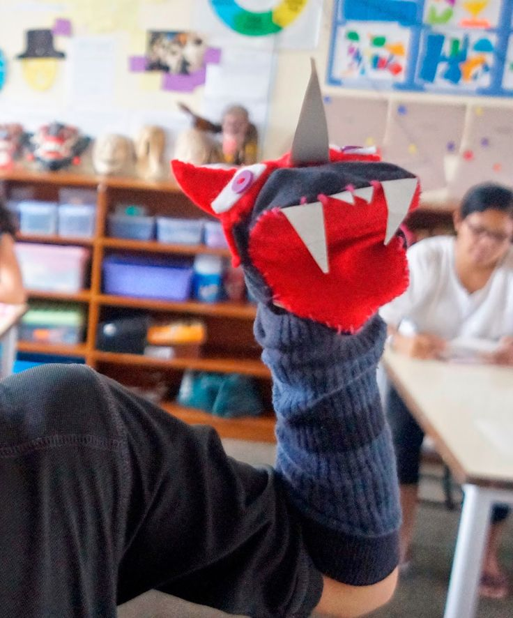 Grade 4 2014- Sock Puppet | BIS Visual Art