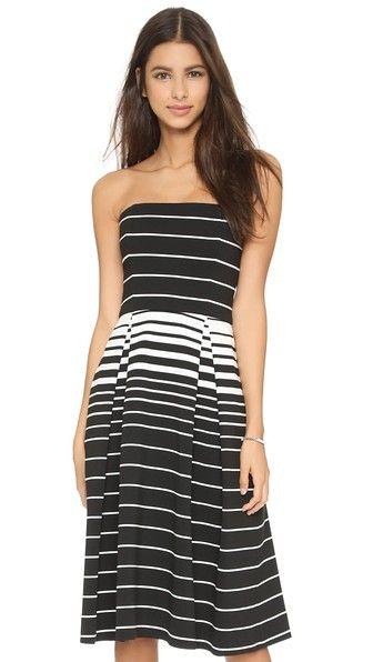 Nicholas N / Nicholas Corsica Stripe Ball Dress