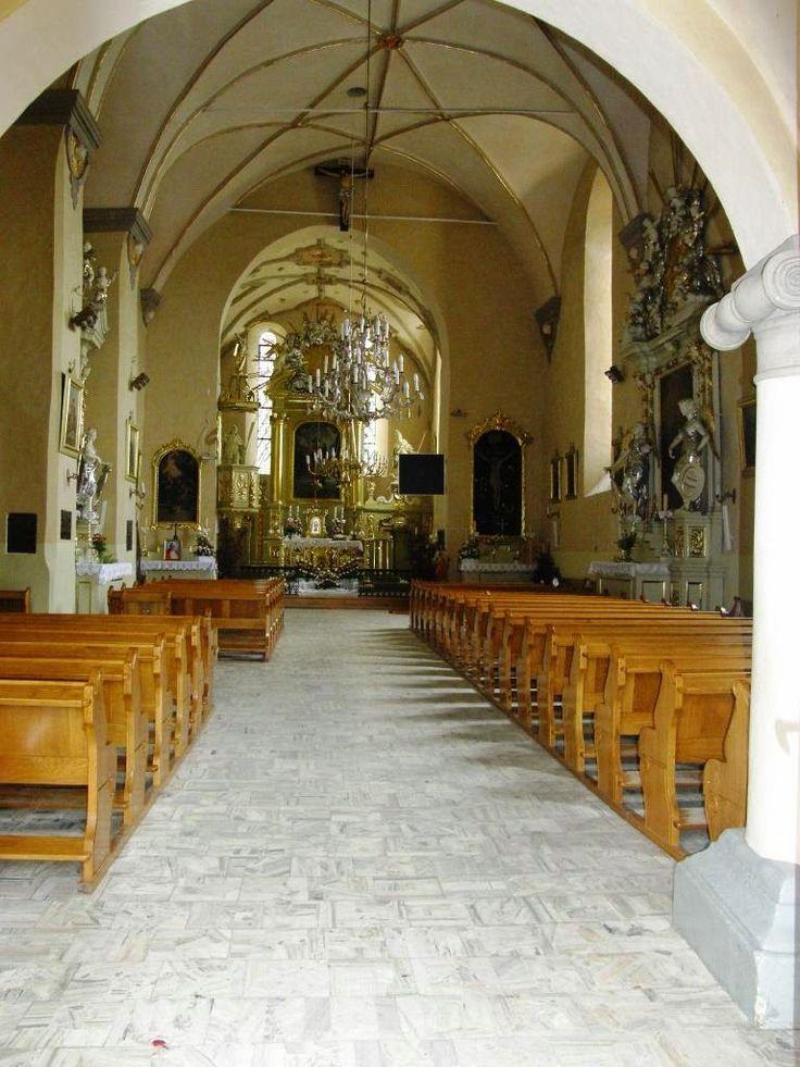Kościół pw. św. Stanisława BM i św. Małgorzaty - Janowiec (woj. lubelskie, pow. puławski, gm. Janowiec)