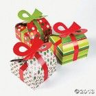 3D Christmas Gift Boxes With Bow